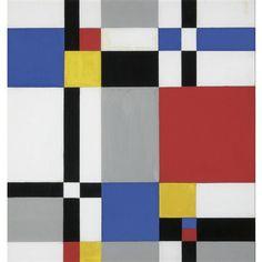 Mondrian art piet mondrian art 4 nach bauhaus kunst bild for Minimal art zusammenfassung
