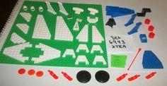 #$34.39 ONSALE #CLASSIC #VINTAGE #LEGOSPACE SPARE #SET6973 #DEEPFREEZE #DEFENER #SPACE #ALIENS #NASA #MARS LEGO Set 6973 XTRA 6087 4591 3960 6058 2625 2340 6120 6104 3934 3933 3586 3941 #LEGO