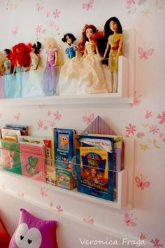 66 New Ideas For Baby Room Organization Ideas Clever Storage Project Nursery Barbie Storage, Doll Storage, Smart Storage, Toy Rooms, Kids Rooms, Little Girl Rooms, Bedroom Storage, Girls Room Storage, Nursery Storage