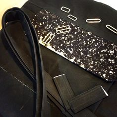 Getting cosmic with the new black waxed canvas...