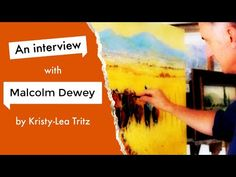 Making the Transition to Full Time Artist? (An Interview with Malcolm Dewey) How Do I Get, Painting Tutorials, Creative Art, Interview, Youtube, Artist, Painting Art, Creative Artwork, Youtubers