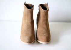 channeling these today with my j.crew greer wedge ankle boots.