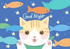 Cat and you say good night, warm and cute animal illustration Cute Animal Illustration, Good Night, Pikachu, Disney Characters, Fictional Characters, Cute Animals, Warm, Disney Princess, Illustrator