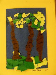 PK Torn paper landscape