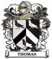 Thomas family crest wales