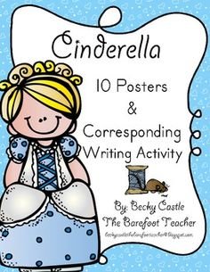 $ Cinderella Posters (10 total) & Corresponding Writing Activity