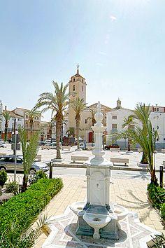 """Plaza de Albox - Almería  37° 23' 24.51"""" N  2° 8' 49.98"""" W"""