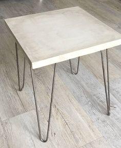 Beton / Stahl Tisch