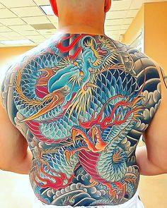 30 Delightful Yakuza Tattoo Designs - Traditional Totems with a Modern Feel Check more at http://tattoo-journal.com/best-yakuza-tattoo-designs-meaning/
