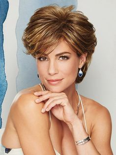 Wavy Short Capless Layered Best Synthetic Wigs Online, one of the most popular wigs for years running and for good reasons. Short Hairstyles Fine, Easy Hairstyles, Teenage Hairstyles, Medium Hair Styles, Short Hair Styles, Best Wigs, Wigs Online, Short Wigs, Cool Haircuts