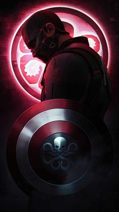 Captain Hydra IPhone Wallpaper - IPhone Wallpapers