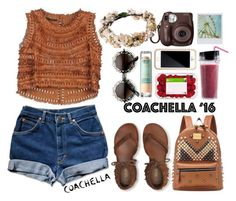 """""""Pack for Coachella!"""" by may-calista ❤ liked on Polyvore featuring Ermanno Scervino, Aéropostale, Chicnova Fashion, Squair, festival, coachella and packforcoachella"""