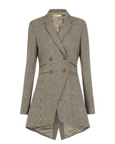 """Cabbages and Roses """"Flossie"""" frock coat in herringbone check. Sold out, which makes me sad."""