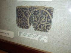 Early 13th C. Bag - embroidery. V Museum.