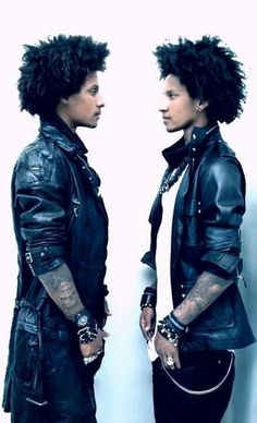 Les Twins, Laurent and Larry