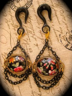 Victorian Plugs..they make adorable ear weights