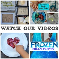Watch our videos! So many fantastic crafts, activities and more all shot in easy to follow videos! Check them out here!