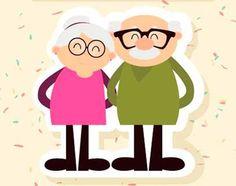 Mi Sala Amarilla: Canciones, poemas y textos dedicados a los abuelos Daycare Logo, Grandmother's Day, Information Visualization, Grandparents Day, Happy People, Mom And Dad, Birthday Wishes, Instagram Story, Dads