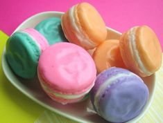 Macaron Soaps Gift Set Set of 3 French by SunbasilgardenSoap Paris Bridal Shower, Stocking Stuffers For Her, Macaron Flavors, French Macaroons, Body Polish, Fall Gifts, Macarons, Sugar Scrubs, Amazing Things