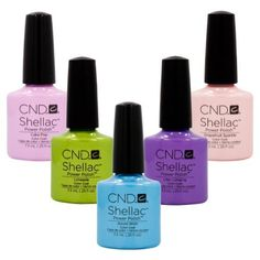 CND Shellac UV Nail Gel Polish SWEET DREAMS 2013 Spring Collection 5 Color Set >>> You can find more details by visiting the image link.