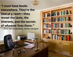 books are the soul of a room