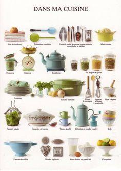 Avant de nous attaquer à une nouvelle recette, passons en revue tous nos instruments de #cuisine. Avons-nous tout ce qu'il nous faut ?