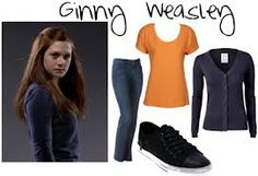 Ginny Weasley inspired outfit