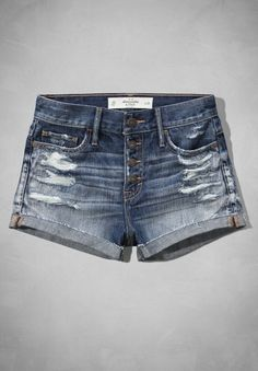 Abercrombie High Rise Short-Shorts