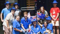 Local Lions get into the Aussie spirit
