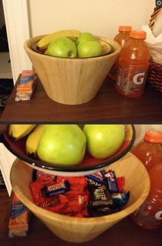 How to hide candy from your kids...