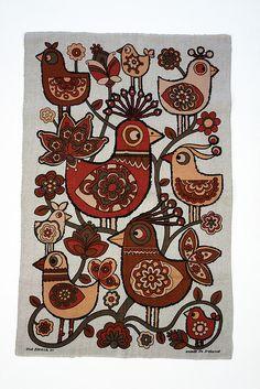 Irish linen tea towel... designed with joy!