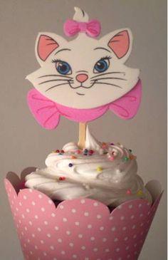cupcake bolo gatinha marie