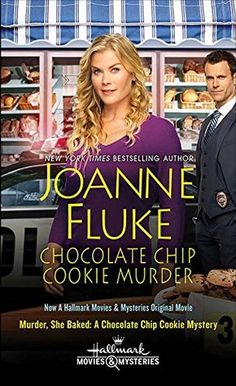 Chocolate Chip Cookie Murder by Joanne Fluke. 3 stars. i read it because i watched the Hallmark Mystery Channel movie & quite liked it. i also realized i'd bought one of the later books in the series last summer (still on my TBR pile). nice entry but of course no big surprises because i'd already seen the movie but there's enough here that i'll continue with the series. the recipes throughout the book are almost reason enough to continue the series. :) cozy mystery, fiction, novels, books…