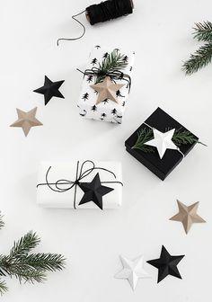3D Paper Stars Print