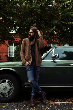 beardbrand: Anthony Bogdan by Madison Dube / man / style / fashion Hipsters, Sharp Dressed Man, Well Dressed, Hipster Fashion, Mens Fashion, Style Fashion, Handsome Bearded Men, Sexy Beard, Beard No Mustache