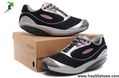 14f857eb5c Fashion Women MBT Fora Shoes Black Silver Football Shoes, Kd Basketball  Shoes, Soccer Cleats