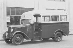 1940 International Harvester, D5 Panel Van