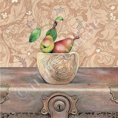 Cori Lee Marvin | WATERCOLOR | Wild Pears
