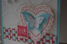 Back with more projects from my All Day Class...      I saw a clever fold created with the Scallop Square Die by Amanda at The Craft Spa a...