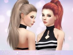 Aveira Sims 4: Stealthic  Paradox hairstyle retextured • Sims 4 Downloads