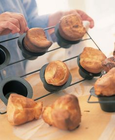I love making these Popovers from Barefoot Contessa Parties! for Thanksgiving!