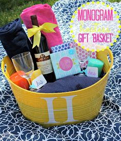 Hostess gift baskets for spring! #fabfound