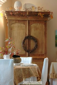 Simply Suzanne's AT HOME: . . . a peak at Fall in our home