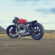 Brat Style #motorcycles #bratstyle #motos | caferacerpasion.com