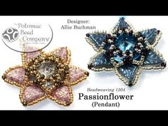 Passionflower Pendant - YouTube