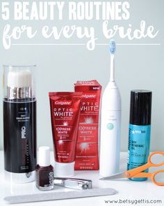 5 Beauty Routines for Every Bride #OpticSmiles #ad #wedding #bride #beauty