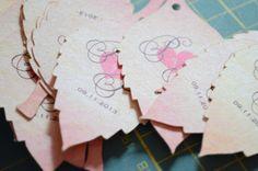 Hojitas  #decoración #bodas © Crema&Naranja de Laura Vásquez #cremaynaranja