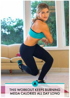 This total body workout will have you burning calories and sweating in no time. The perfect go-to workout when you want to increase your heart rate and get fit fast. Womanista.com