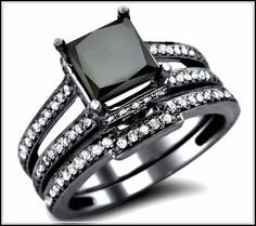Glamour and Cheap Black Diamond Wedding Ring Sets for Great Wedding Couple -Diamond is the most favorite gem stone for wedding rings. Diamond is known as an expensive gem stone which is very luxurious and classy to be used as wedding rings. Diamond has many varieties of colors, such as white, black and red. White diamond is the most common diamond used for wedding...- http://bybrilliant.com/glamour-and-cheap-black-diamond-wedding-ring-sets-for-great-wedding-couple/