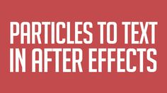 This After Effects tutorial and many more can be found at: http://www.motionmile.com/tutorials In this 'Quick Tip' Tutorial, you'll learn how to transition f...